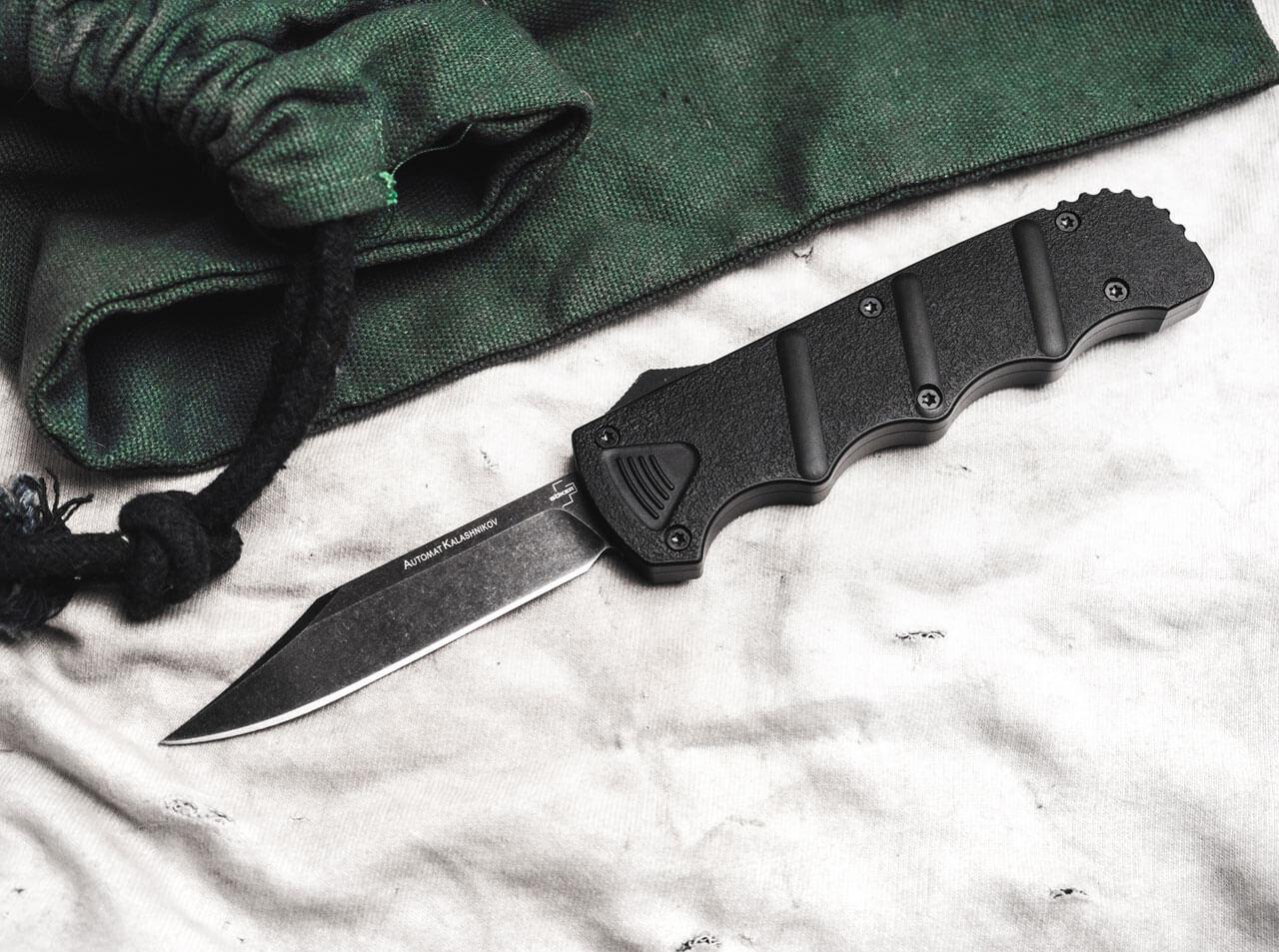 Автоматичен Нож Boker Kalashnikov OTF Bowie