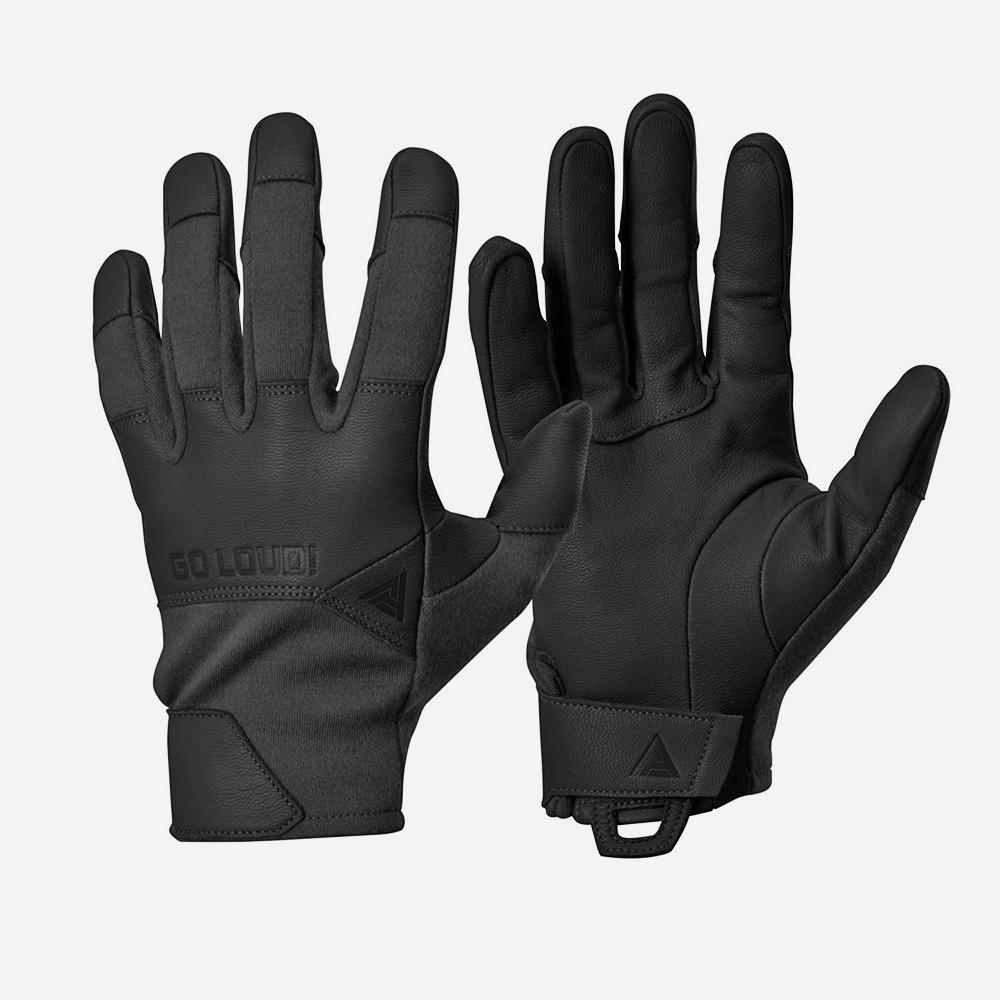 Тактически ръкавици DIRECT ACTION CROCODILE FR GLOVES SHORT Nomex Black