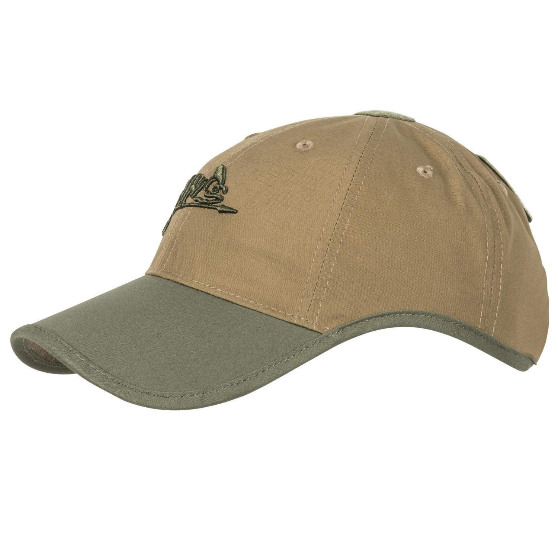 Бейзболна шапка Helikon-tex Logo Cap Coyote/Olive Green