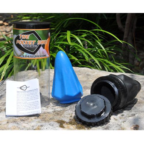 Джобна прашка The Pocket Shot 350fps Черна USA