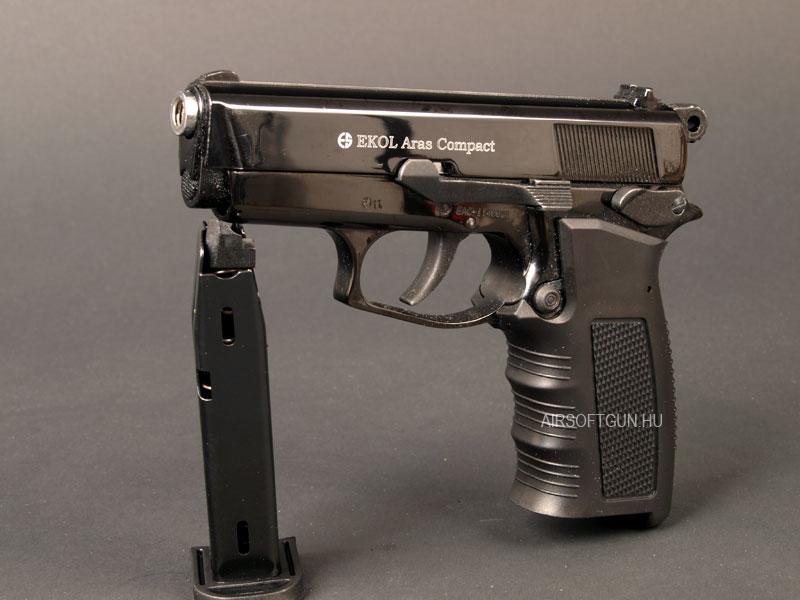 Газов пистолет Ekol Aras – Gas Alarm Pistol Ekol Aras black