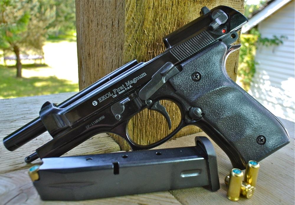 Каратечен газов пистолет Ekol Jackal Magnum 9мм, 15 заряден