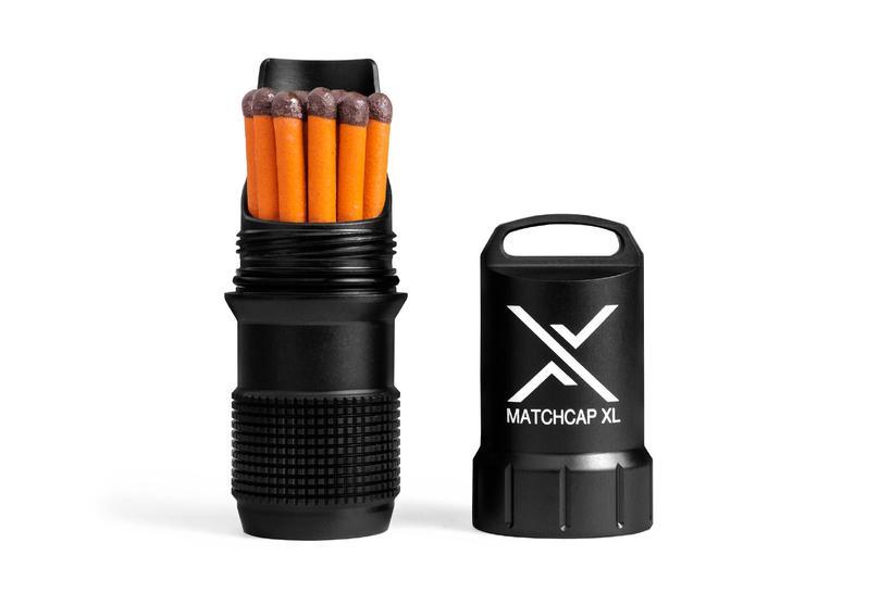 Водонепроницаема кутия за кибрит EXOTAC MATCHCAP XL™ Black