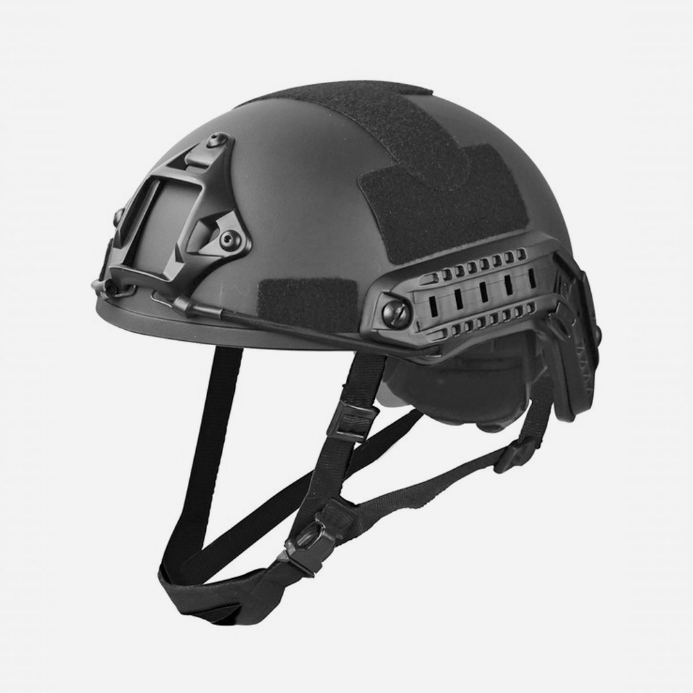Airsoft Каска Kombat UK Fast Helmet Black