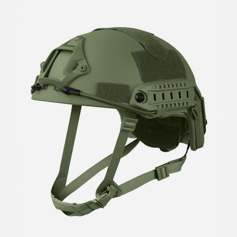 Airsoft Каска Kombat UK Fast Helmet Green