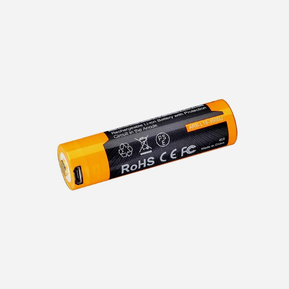 Зарядна батерия 18650 Fenix ARB-L18-3500U USB