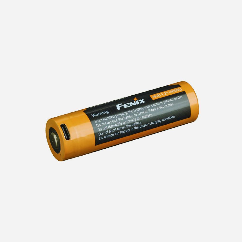 Зарядна батерия 21700 Fenix ARB-L21-5000U USB