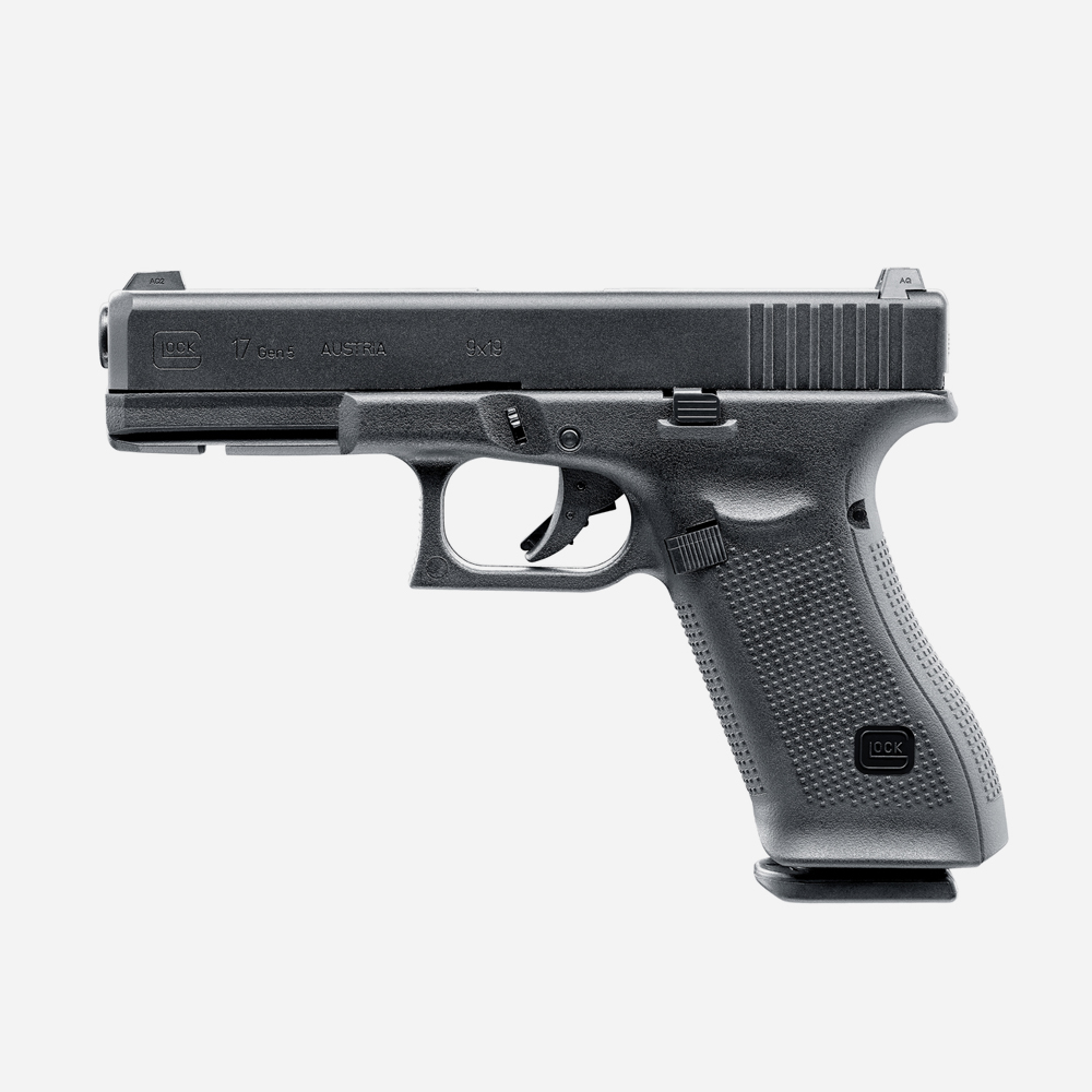 Еърсофт пистолет GLOCK 17  Gen5 (GAS) airsoft gun 6мм BB