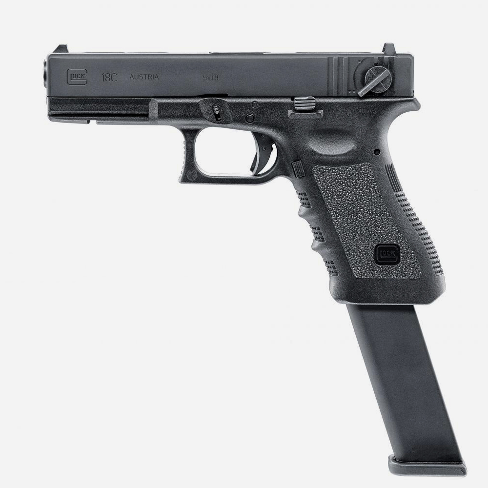 Еърсофт пистолет GLOCK 18X (GAS) 6мм BB