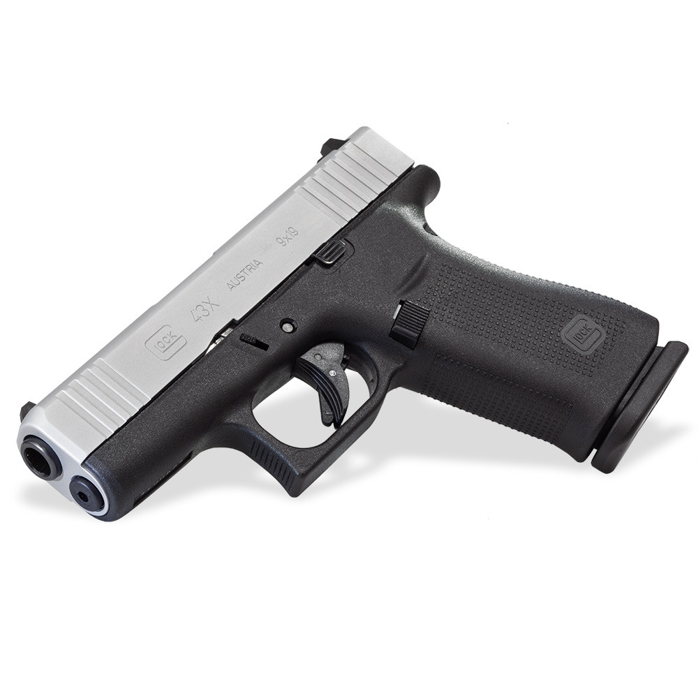 Боен пистолет GLOCK 43X Silver slide