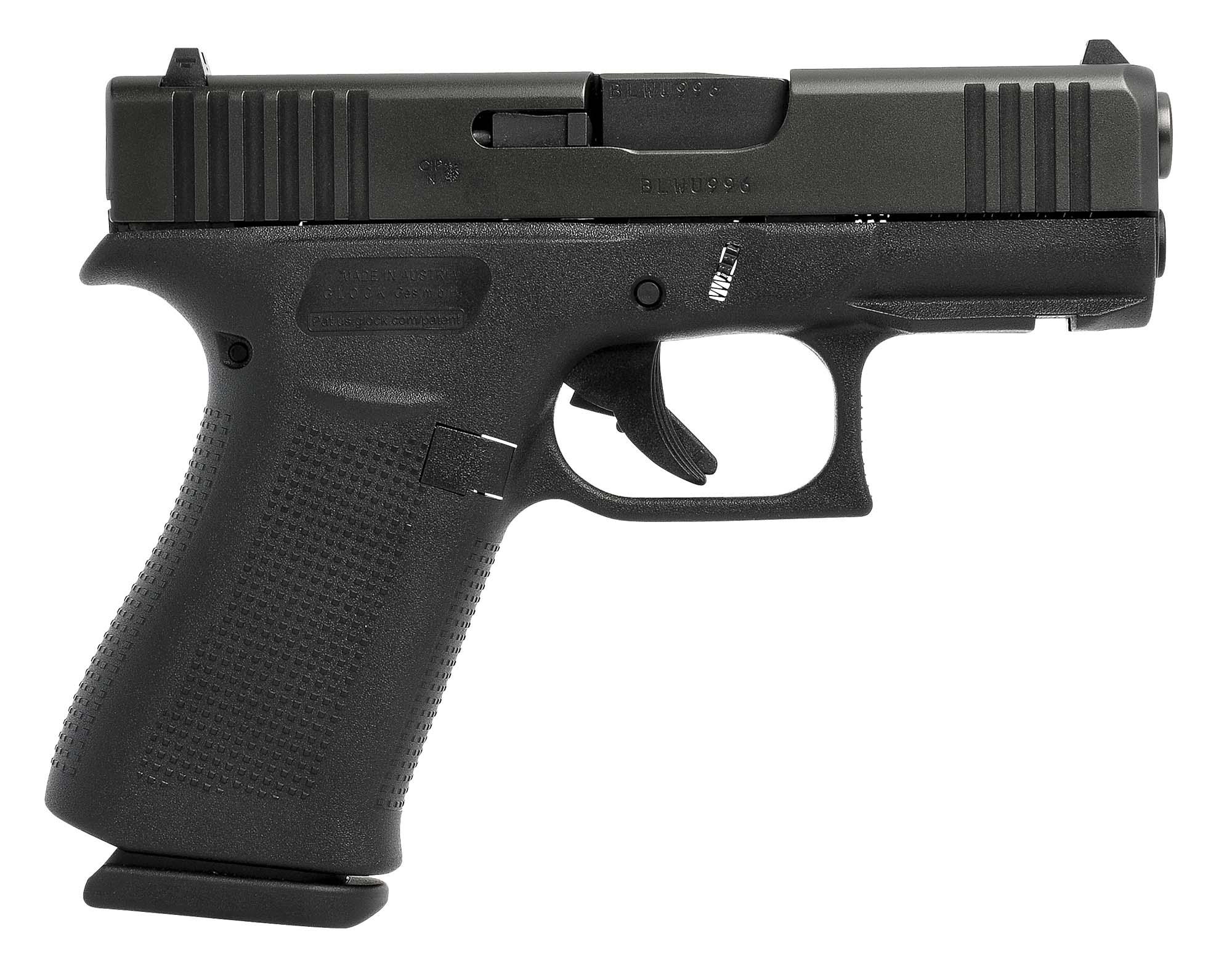 Боен пистолет GLOCK 43X Black