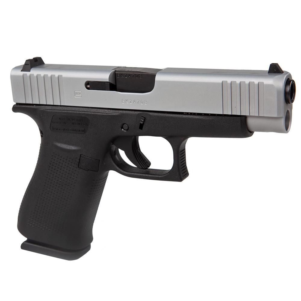 Боен пистолет Glock 48 Silver slide