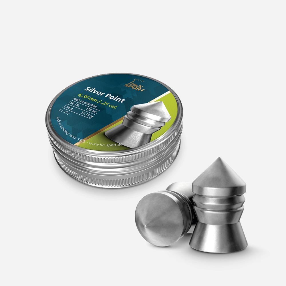 Чашки H & N Silver Point 6.35 мм – Pellet H & N Silver Point