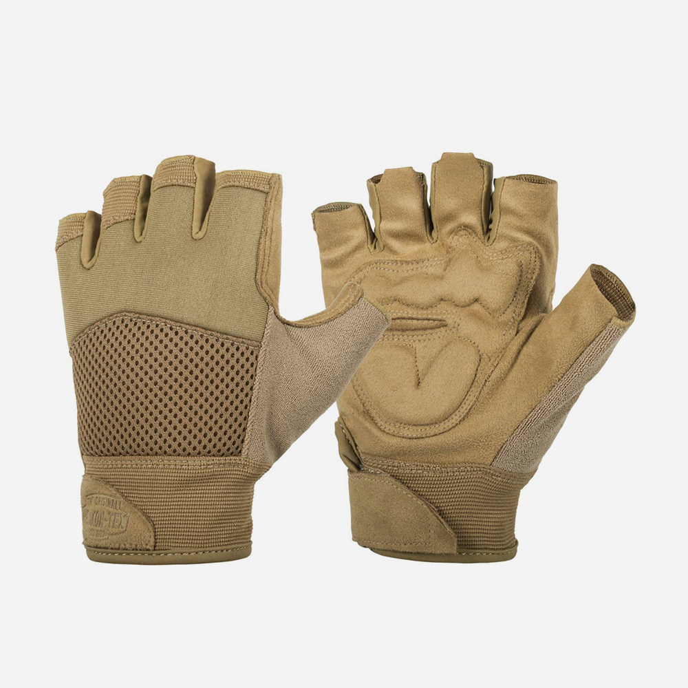 Тактически ръкавици Helikon-Tex HALF FINGER MK2 Coyote
