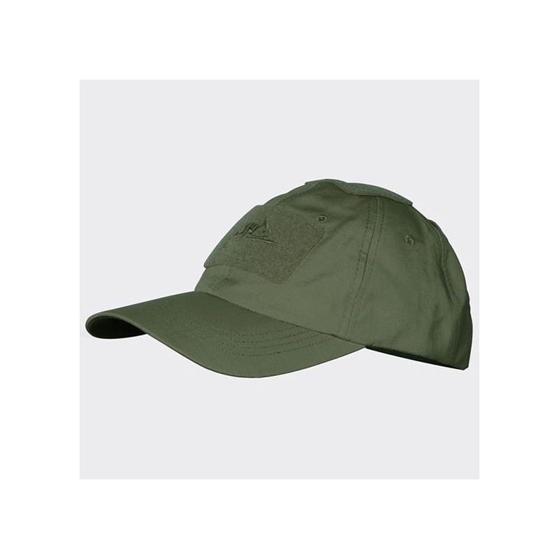 Бейзболна Шапка Helikon-tex Зелена Polycotton Ripstop Olive Green