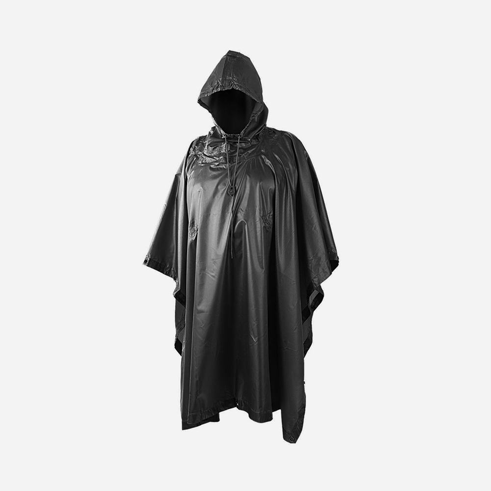 Дъждобран – пончо Helikon-Tex Poncho black