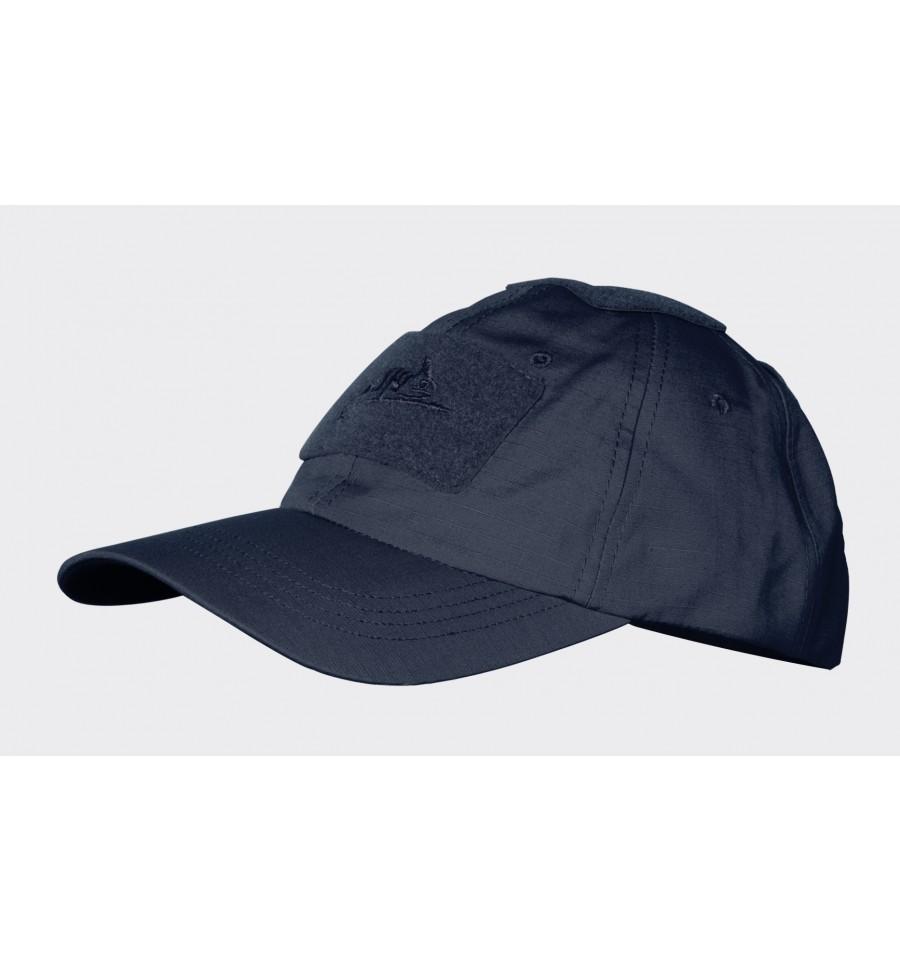 Бейзболна шапка Helikon-tex Polycotton Ripstop Navy Blue – Синя