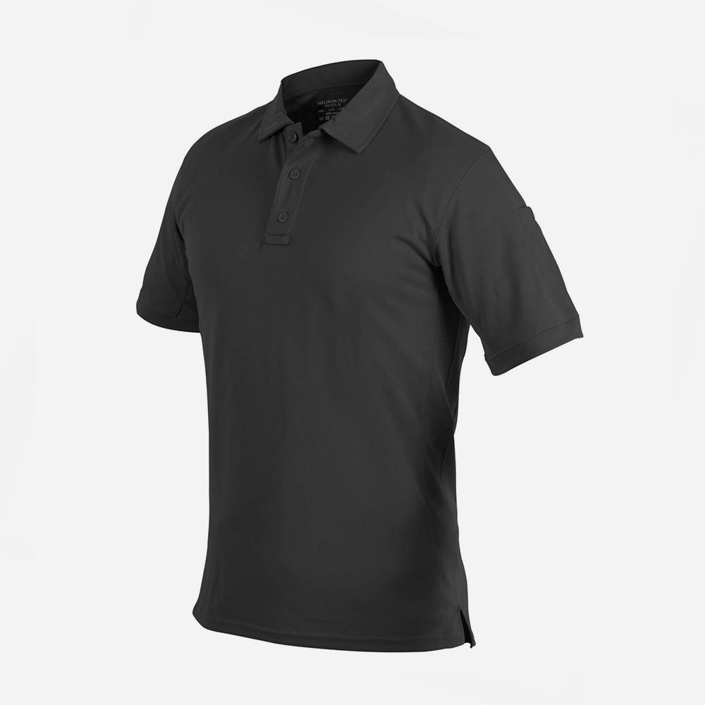 Тениска с яка Helikon-tex UTL Polo Shirt TOPCOOL LITE Black