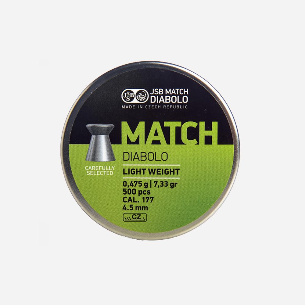 Чашки JSB Diabolo Match 4.51 мм – Pellet JSB Diabolo Match 4.5 mm