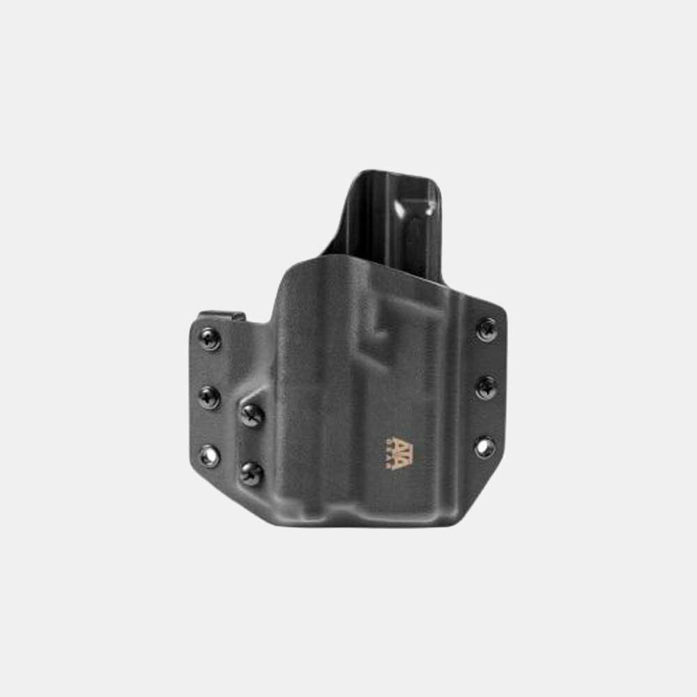 Кайдекс кобур за пистолет с фенер ATA GEAR Hit Factor ver.1 за GLOCK 17/22 и фенер Olight PL Mini 2 Valkyrie