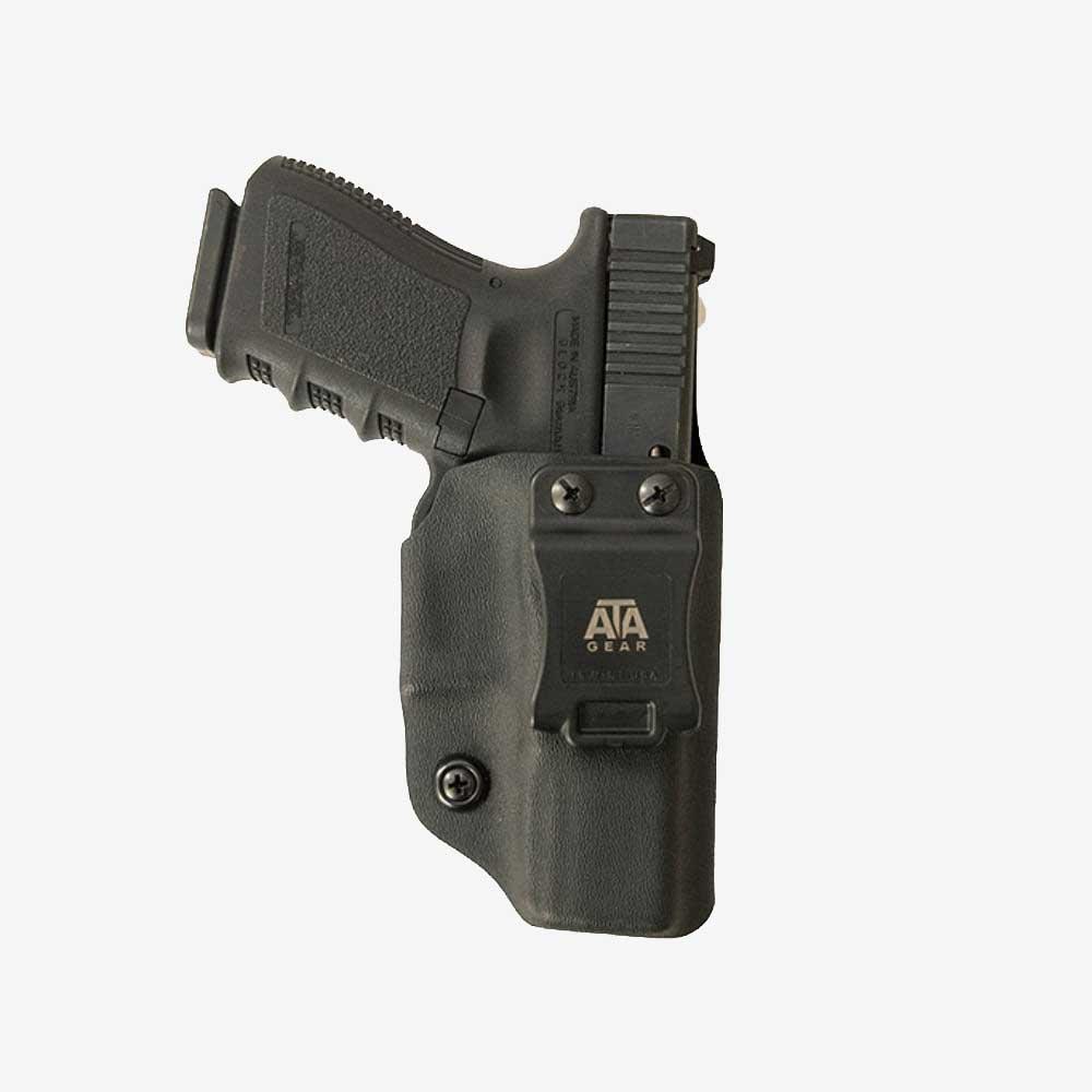 Кайдекс кобур за вътрешно носене ATA GEAR Fantom ver.3 за CZ P10-C Black