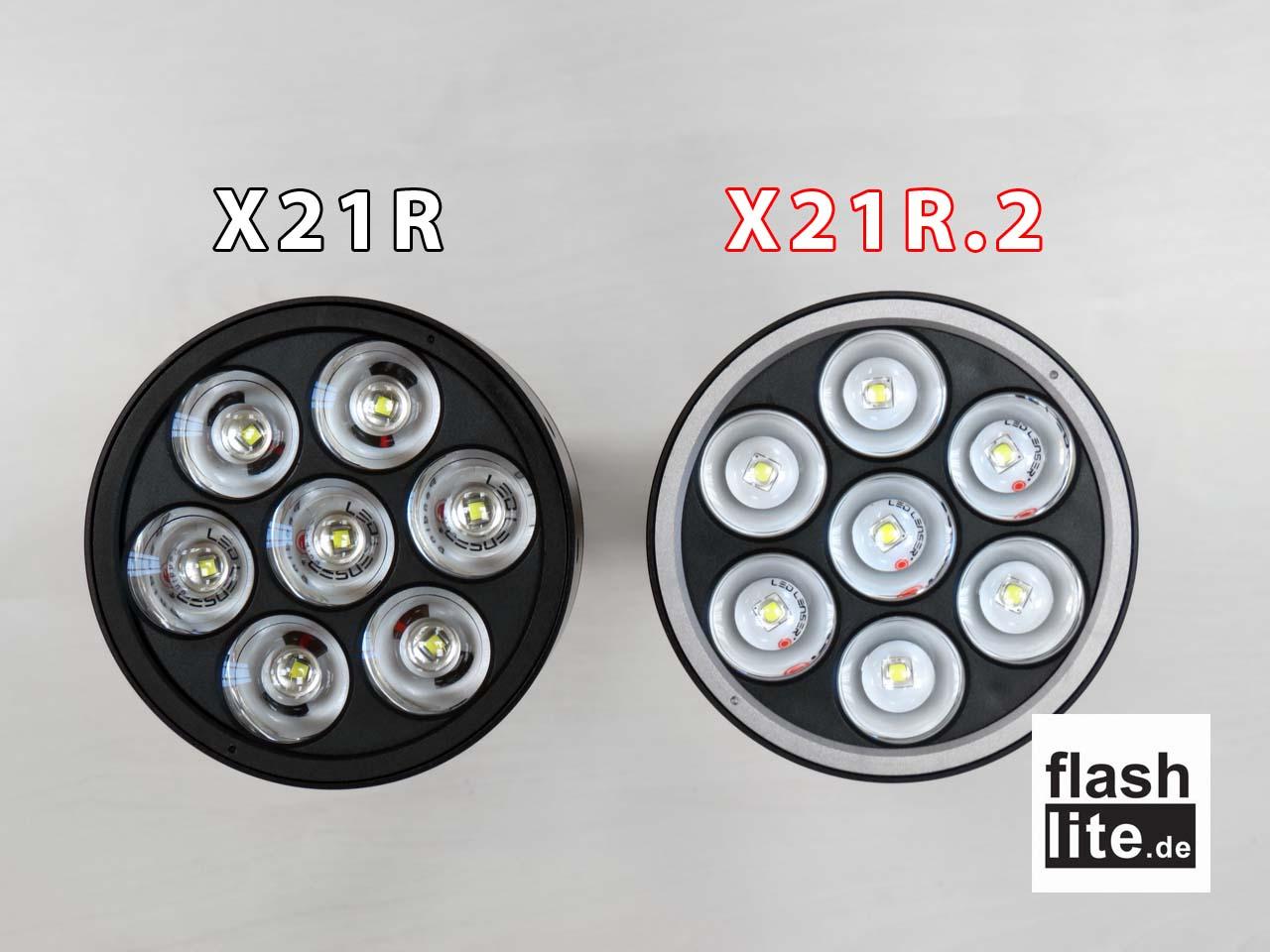 Заряден фенер Led Lenser X21R.2 3200 Лумена