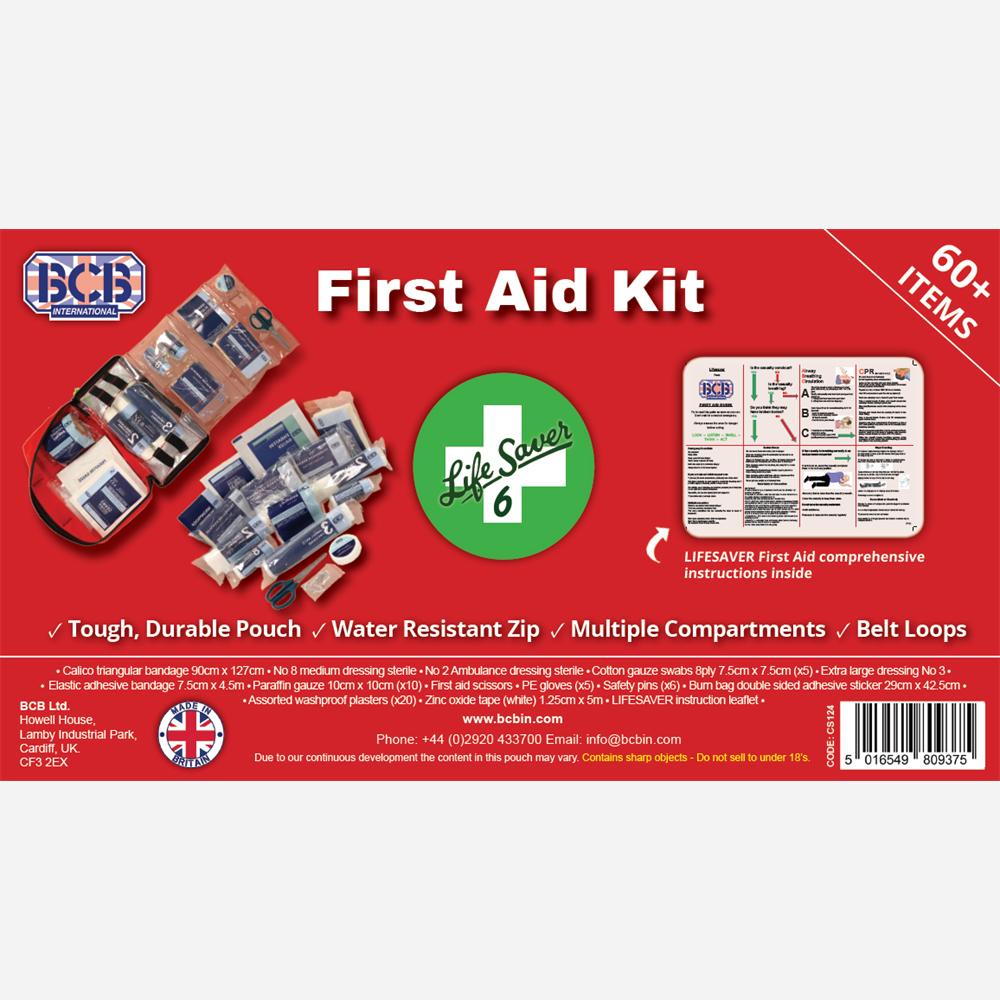 Аптечка за първа помощ BCB Lifesaver 6 First Aid Kit