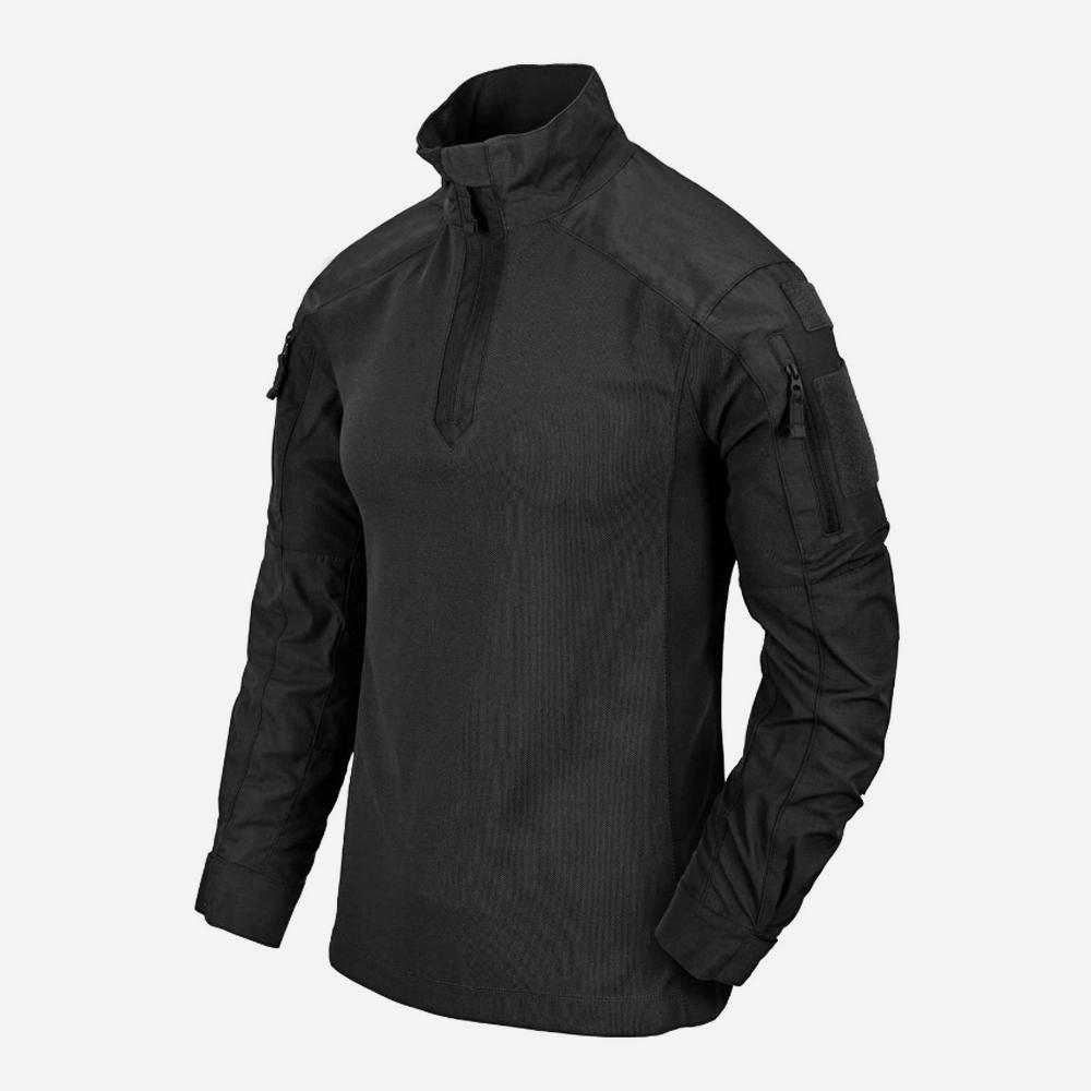 Тактическа риза Helikon-tex MCDU COMBAT SHIRT NYCO RIPSTOP Black