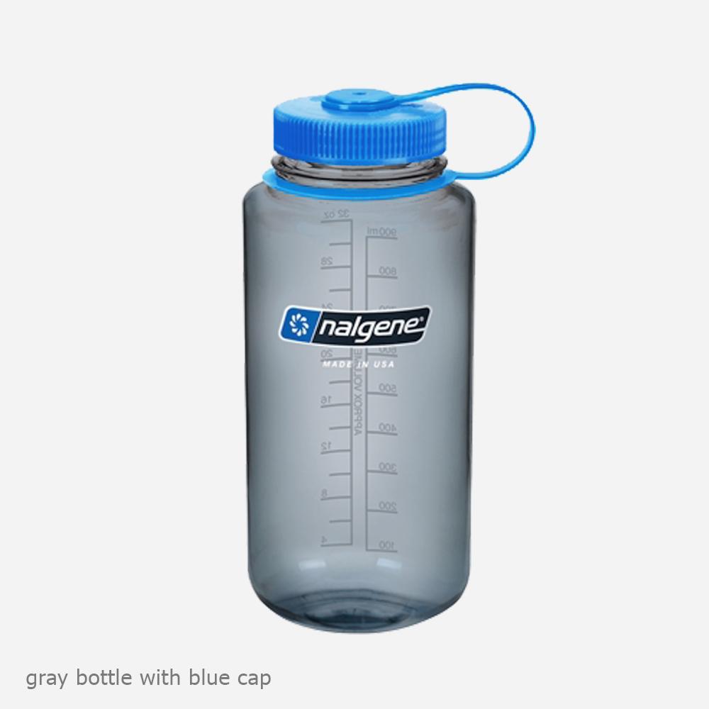 Бутилка за вода Nalgene Wide Mouth Различни Цветове (1L) + подарък приставка Nalgene Easy Sipper