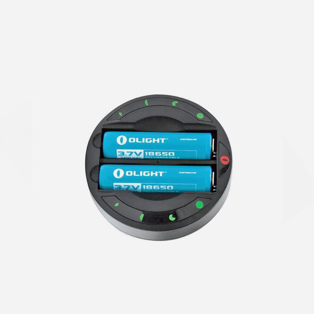 Интелигентно зарядно Olight Omni Dok за всякакви батерии