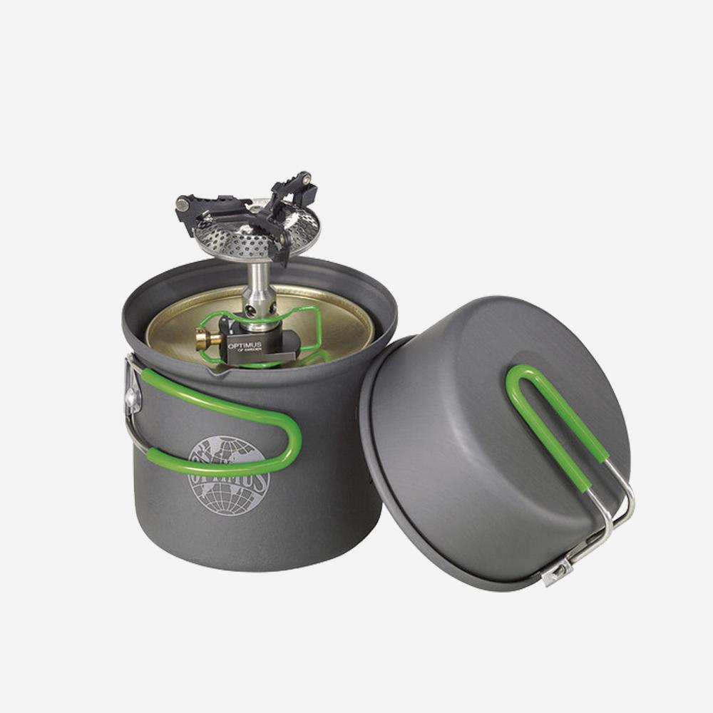 Газов котлон Optimus Crux Lite с Terra Solo готварски комплект