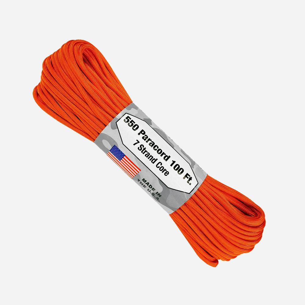 Паракорд Atwood Rope 550lb Burnt Orange