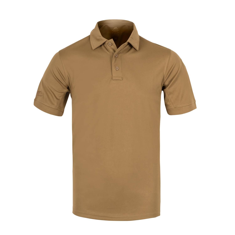 Тениска с яка Helikon-tex UTL Polo Shirt TOPCOOL LITE Coyote