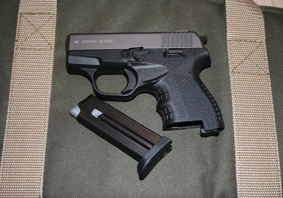 Газов Пистолет Zoraki M 2906, 9mm, Компактен