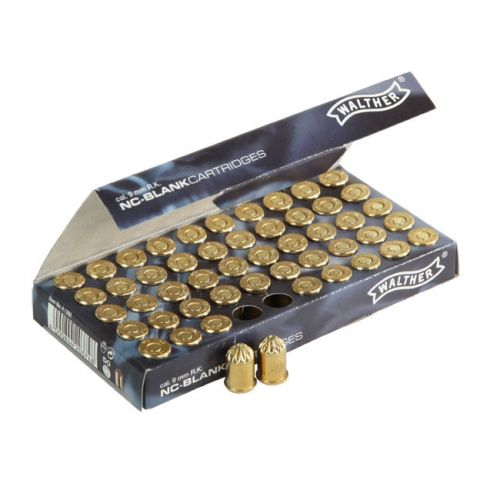 Халосни револверни патрони Walther 9mm – Blank cartridges Umarex