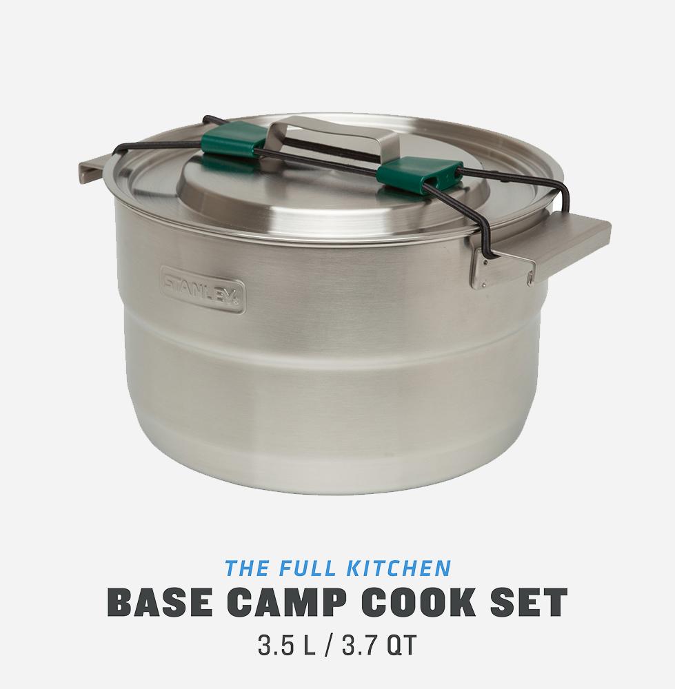Комплект за готвене Stanley Adventure Full Kitchen Basecamp Cook Set 3.5L – 11 Piece Camp Cook Set