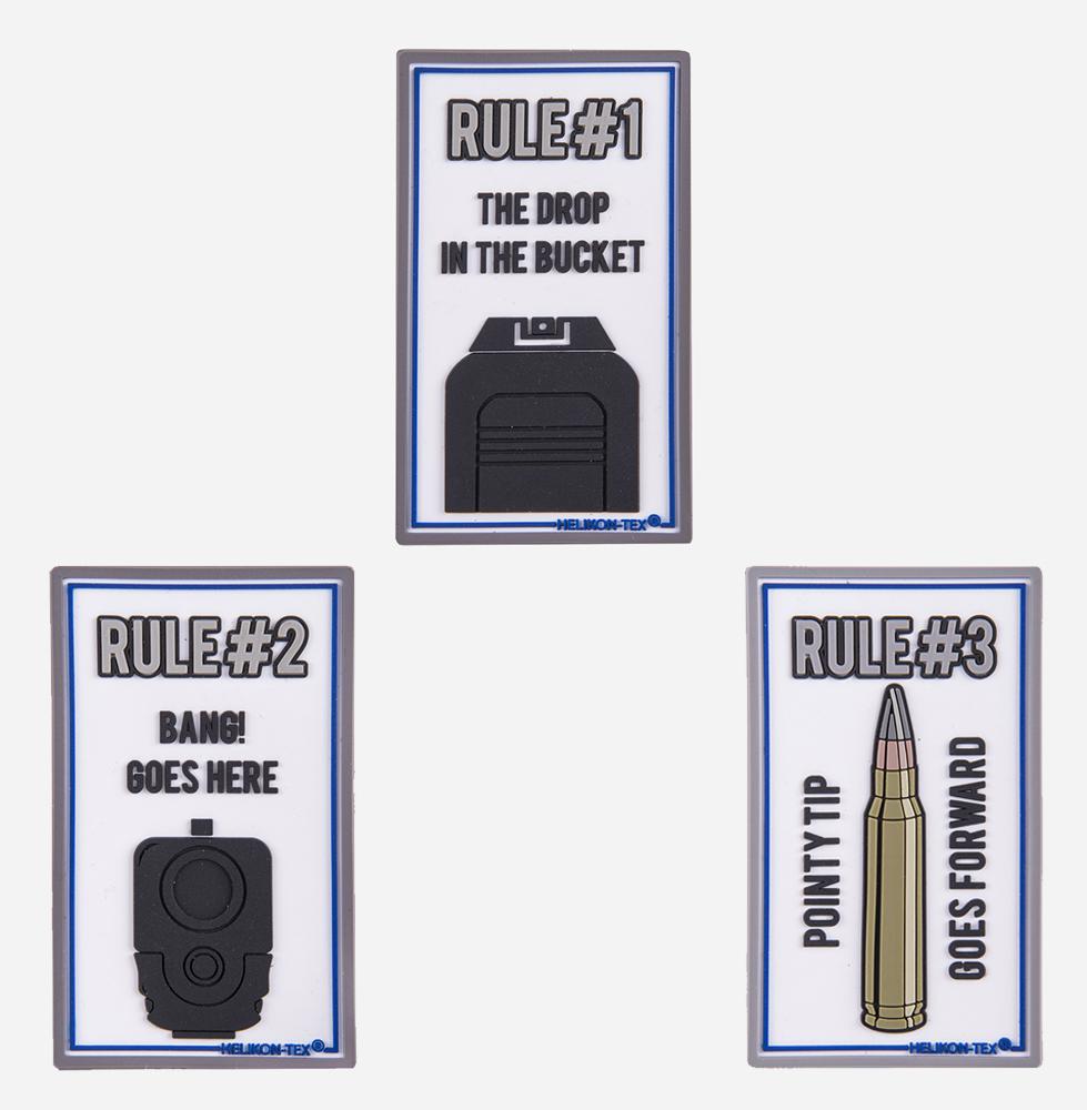 Комплект пачове Helikon-tex Rule#1 Rule#2 Rule#3