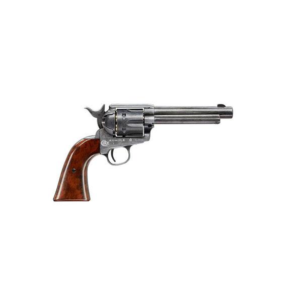 Въздушен револвер Umarex Colt Single Action Army .45 Antique CO2 4.5мм