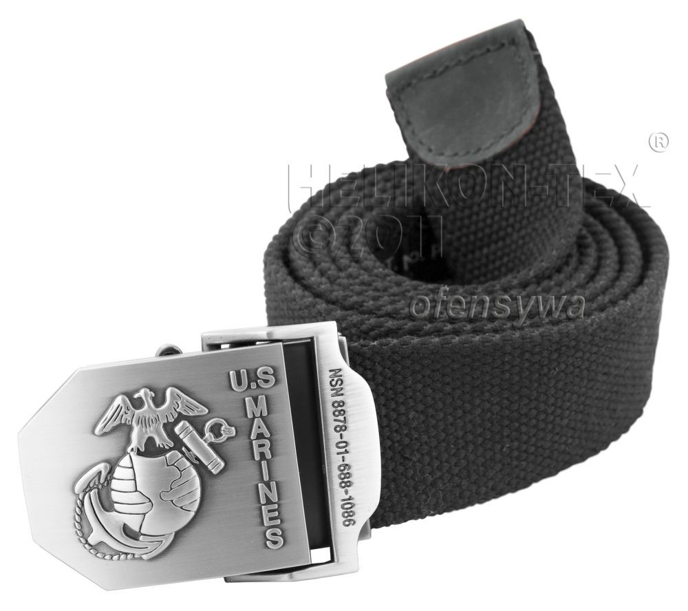 Колан Helikon-tex U.S. Marines – Helikon-Tex USMC Belt Black