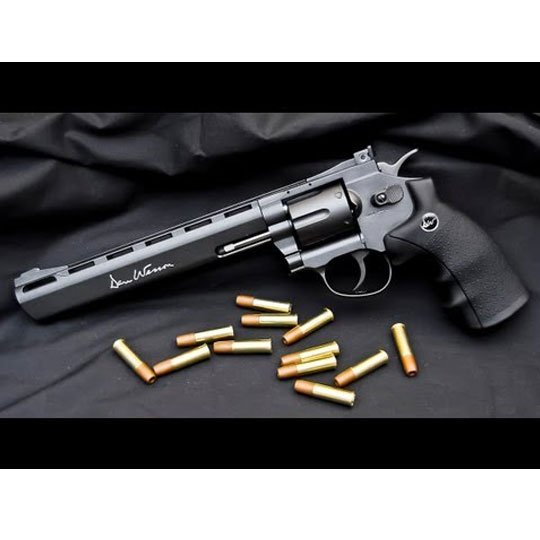 Въздушен револвер Dan Wesson-8″ – Въздушен револвер Dan Wesson-8
