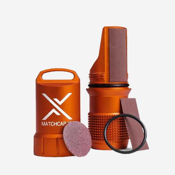 Водонепроницаема кутия за кибрит EXOTAC MATCHCAP XL™ Orange