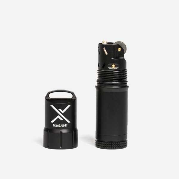 Водоустойчива Запалка EXOTAC TITANLIGHT Black