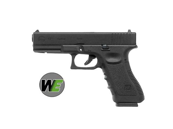 Еърсофт пистолет WE Glock 17 Metal Version GBB