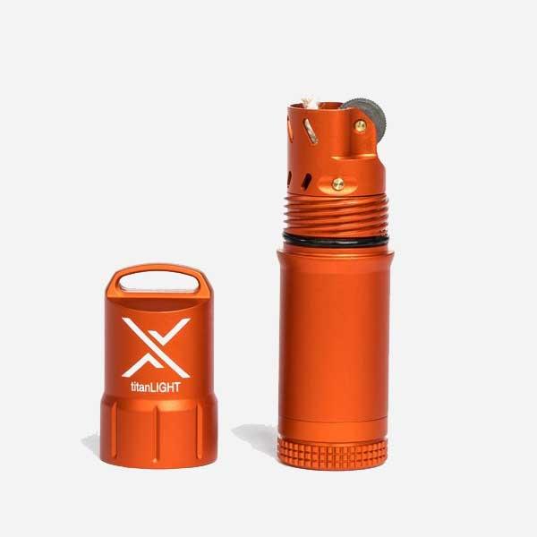 Водоустойчива Запалка EXOTAC TITANLIGHT Orange