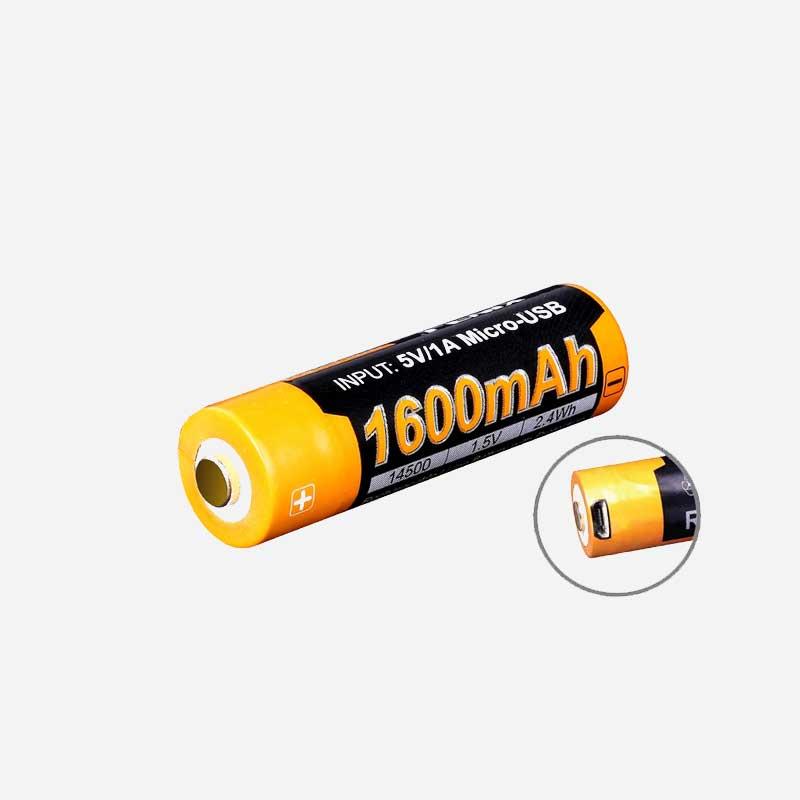 Зарядa батерия Fenix ARB-L14-1600U 1.5V 14500 1600mAH