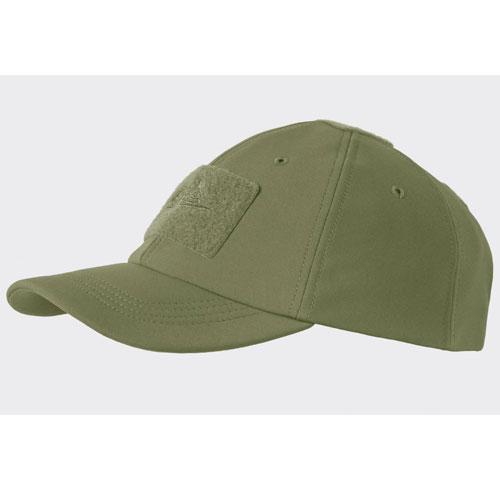 Зимна Бейзболна Шапка Helikon-tex Зелена Soft Shell 100% Polyester
