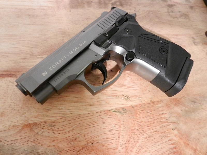 Каратечен газов пистолет Zoraki 914 – Gaz Alarm Auto Pistol Zoraki
